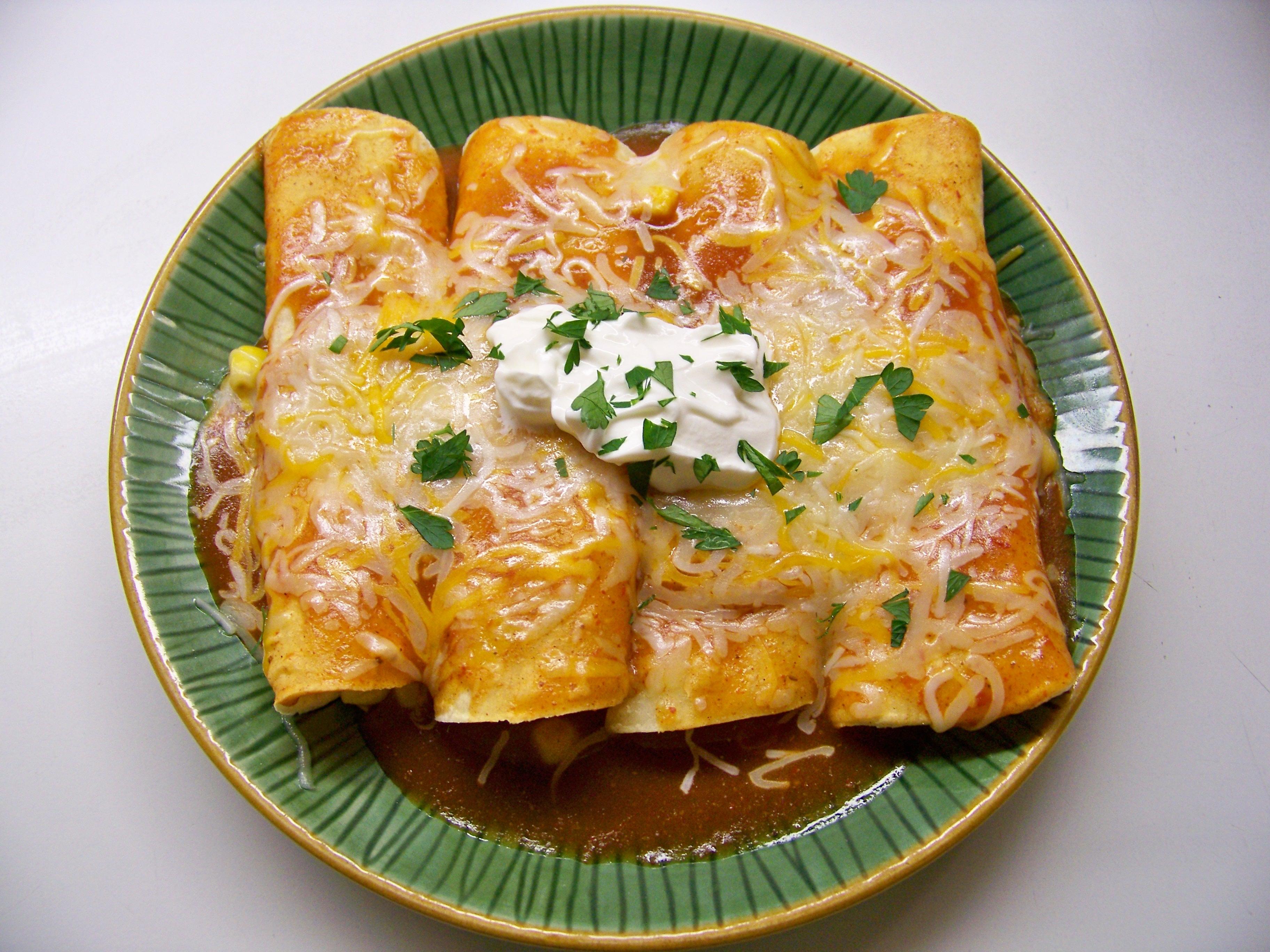 Enchiladas to the Rescue | Christy Drake Diva of Delicious