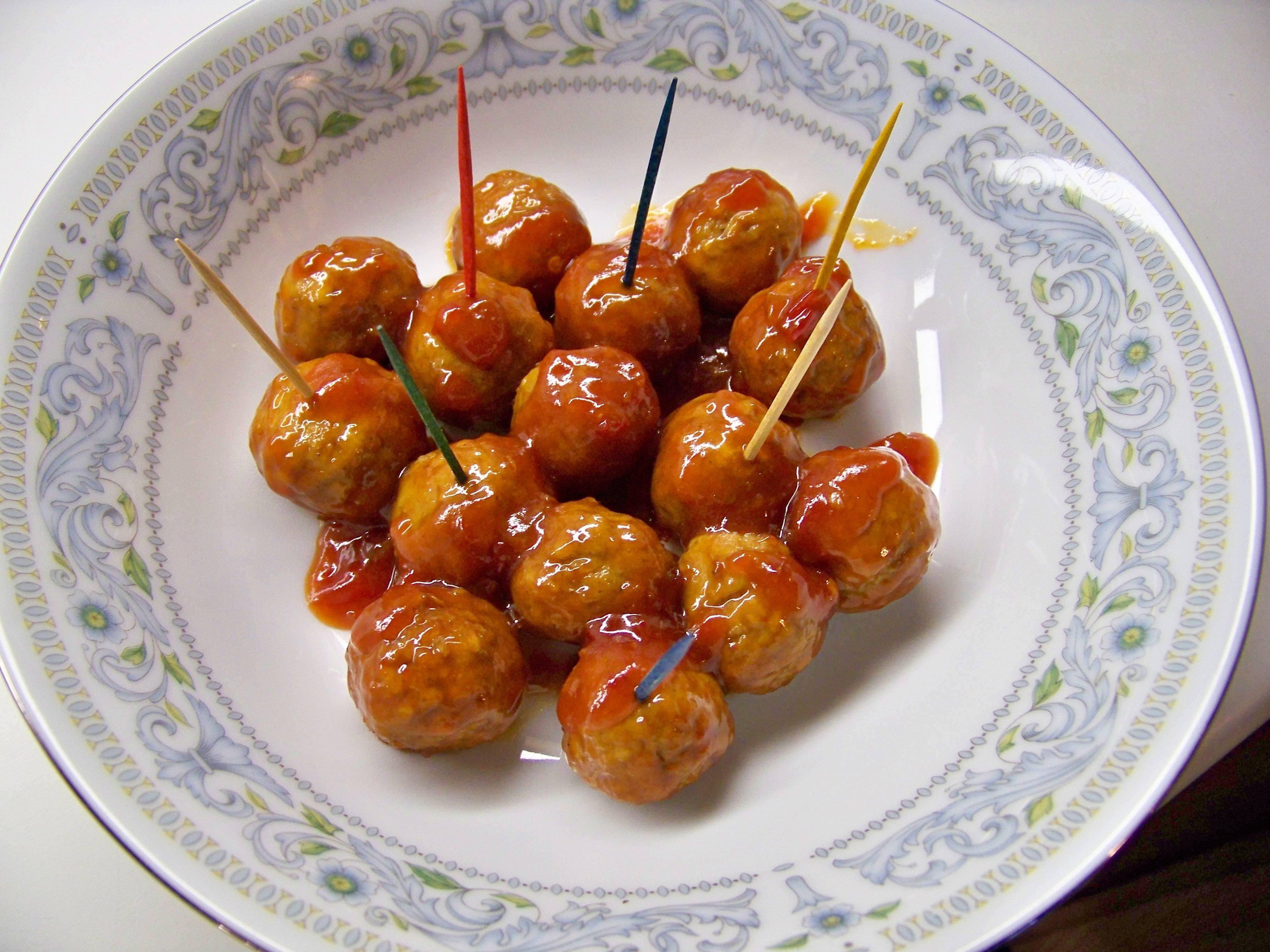 how to make sweet meatballs